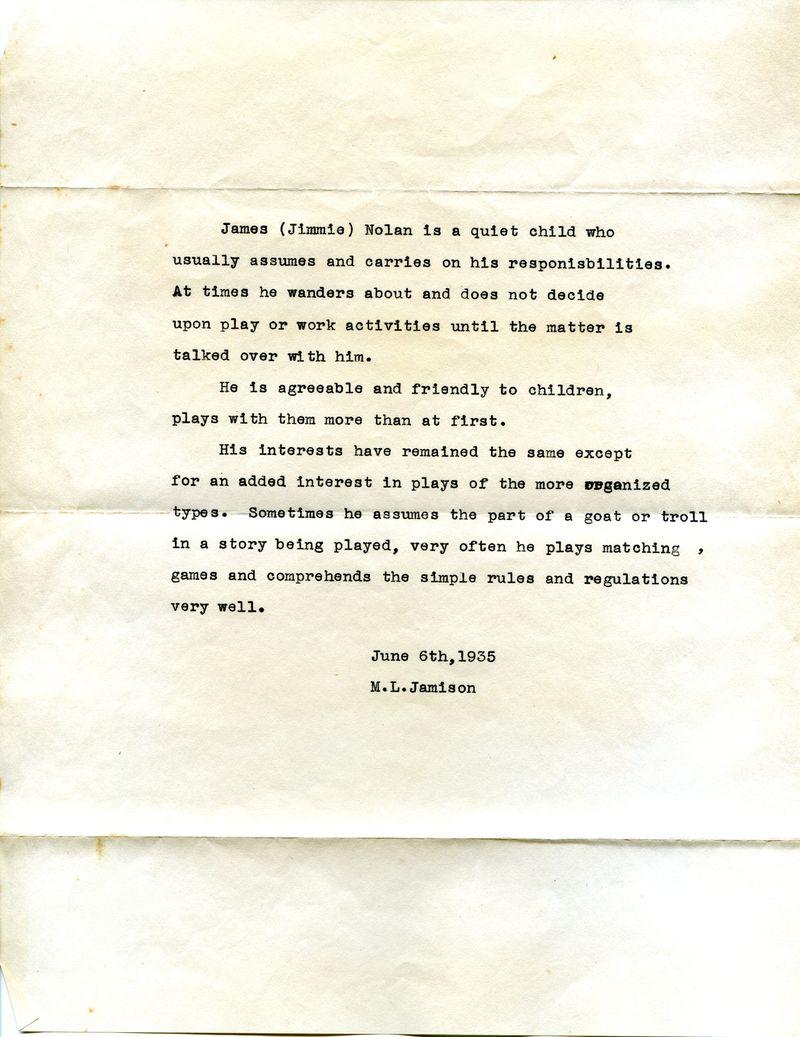 DadSOPReportCard 1935
