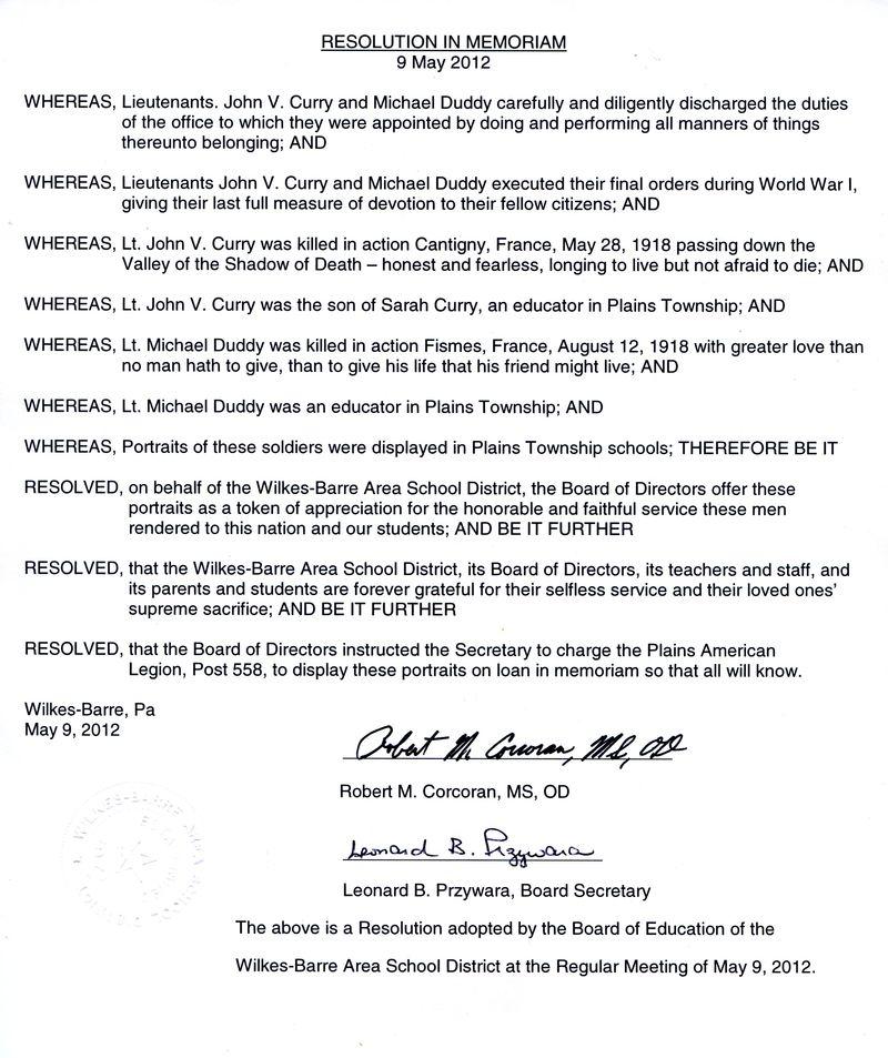 CurryAmericanLegioProclamation 2012