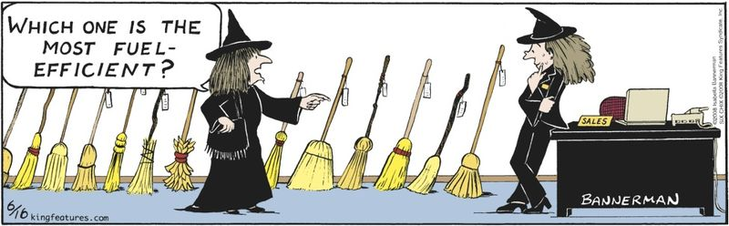 Fuelefficientbroom