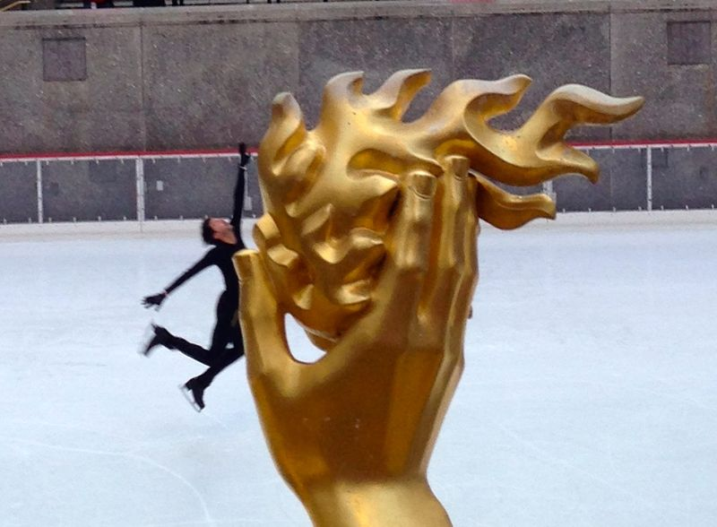 Figure Skater BringingTheFire
