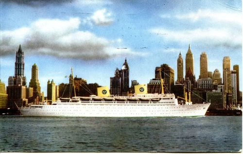 Kungsholm postcard
