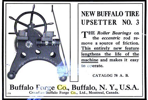 1907 BF ad from The American Blacksmith