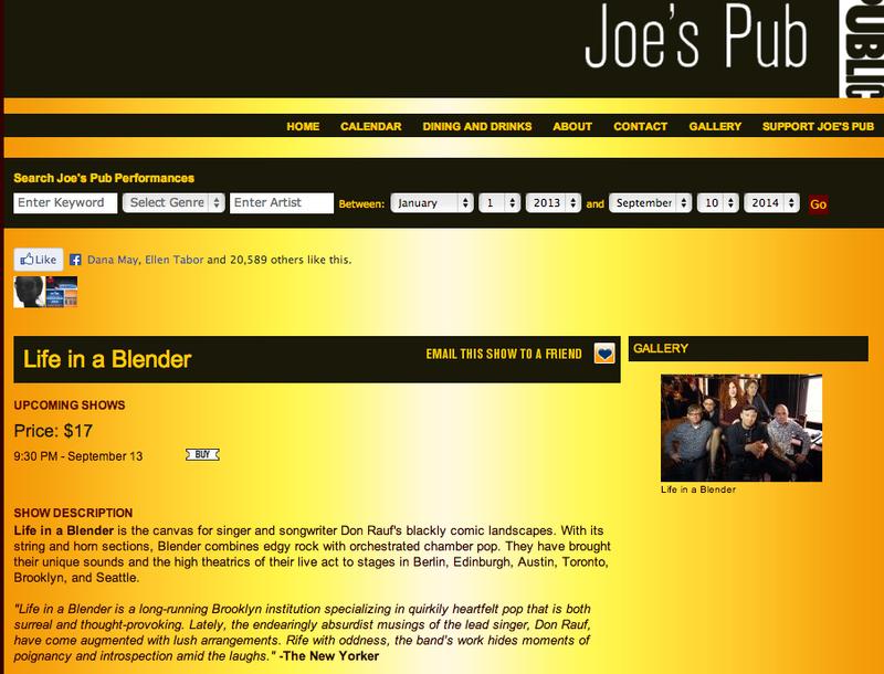 Joe'sPub