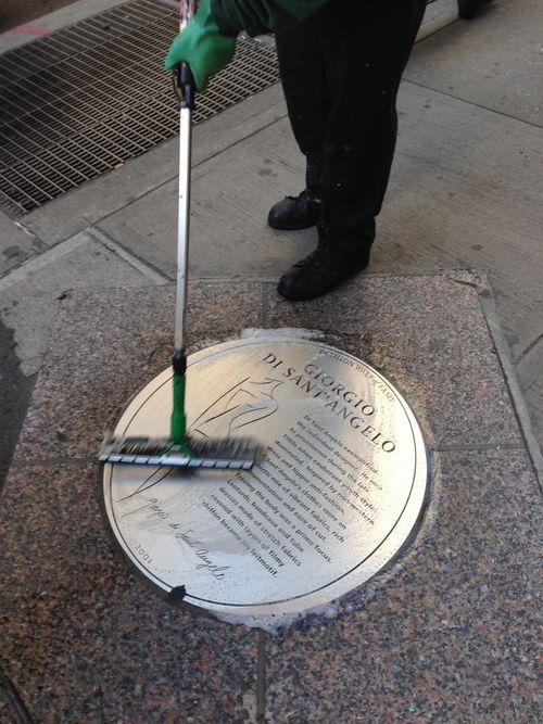 7th Avenue Fashion Walk of Fame Giorgio Di Sant'Angelo