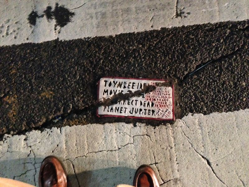 Toynbee Tile 5th Ave. 45th St