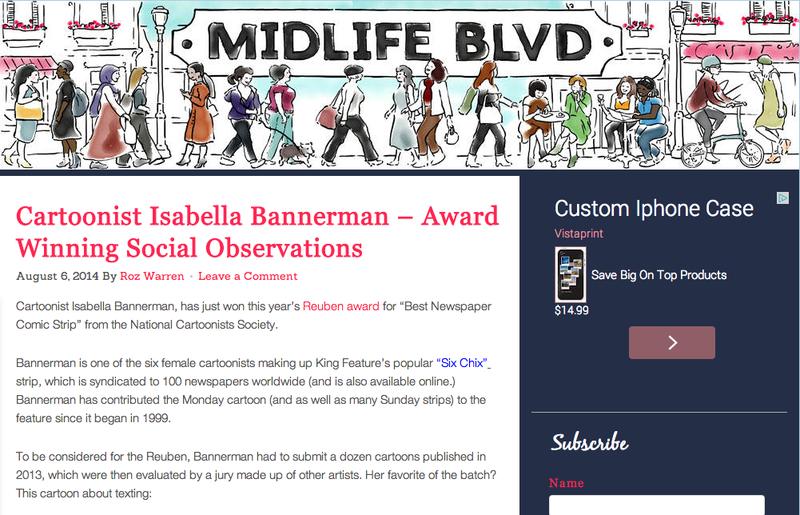 Midlife Boulevard Isabella Bannerman