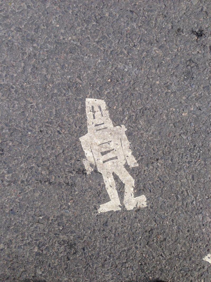 Stikam Robot tiles NYC
