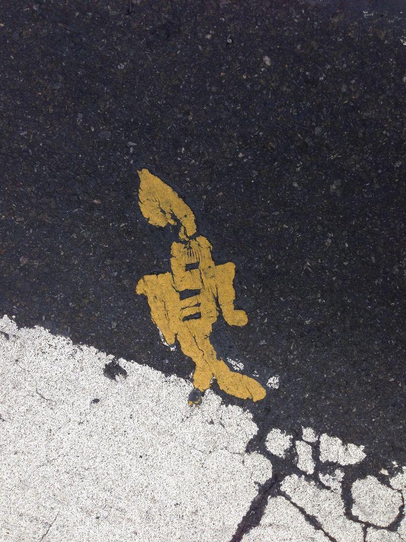 Yellow Stikman Robot 50 and 6