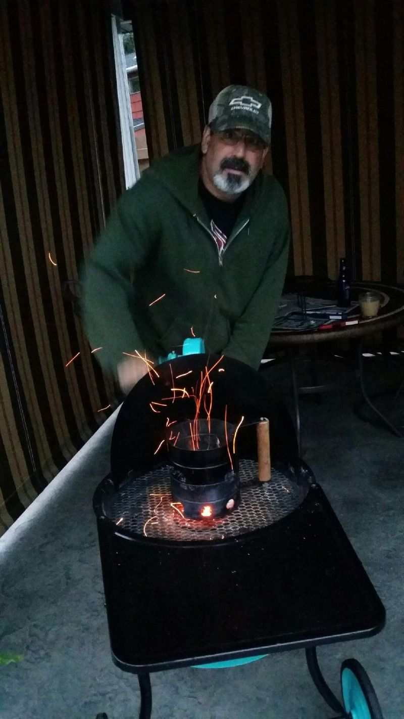 Howie Mook Buffalo Forge grill 1