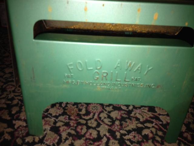 Fold Away Grill Side