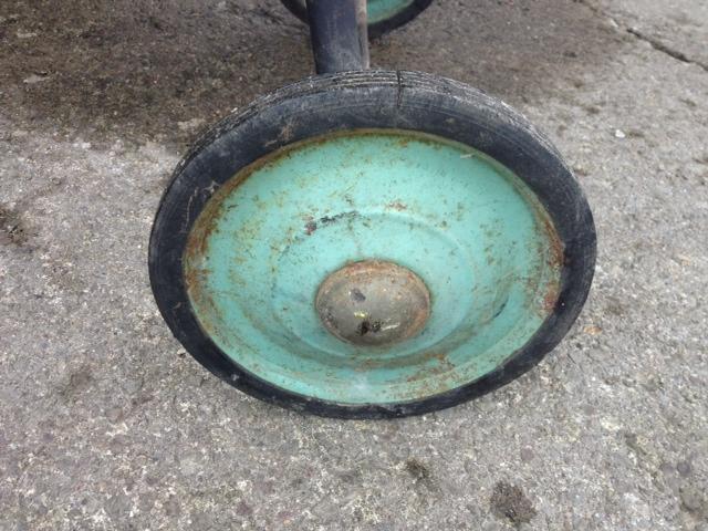 Buffalo Forge grill wheel