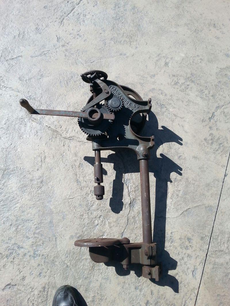 BF Drill press wide