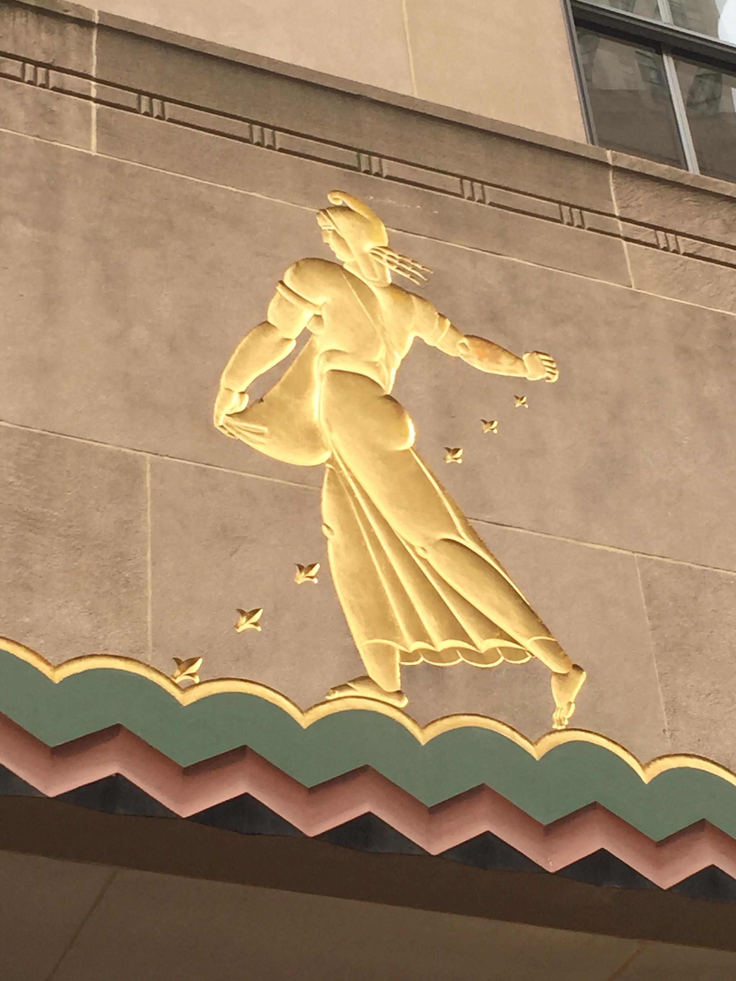 More Rockefeller Center Gold Leaf - Jim Nolan\'s Blog