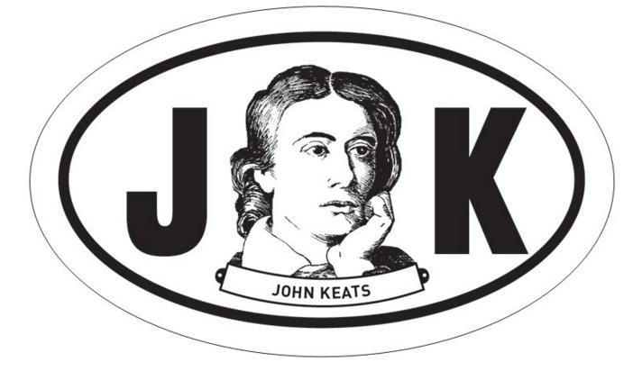 John Keats Oval BW