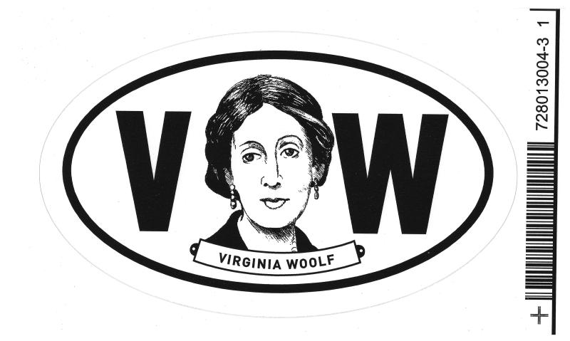 Woolf Sticker