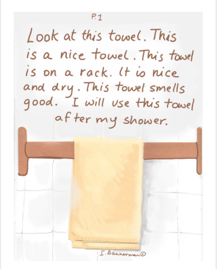 This is a towel 1