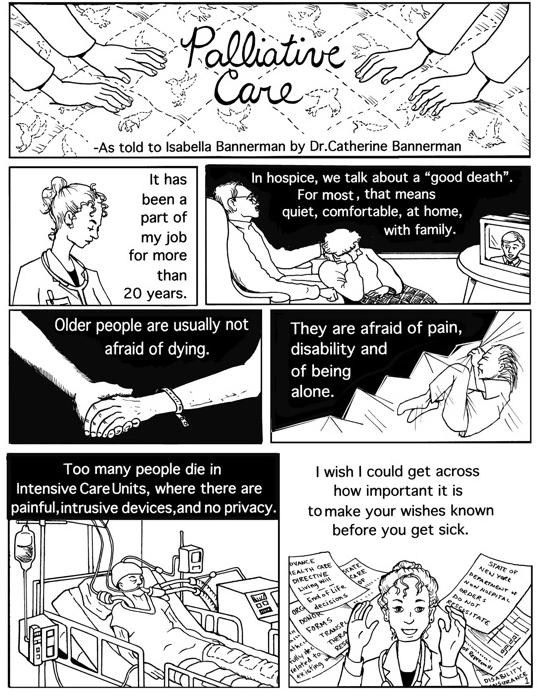 Isabella Bannerman Palliative Care Piece