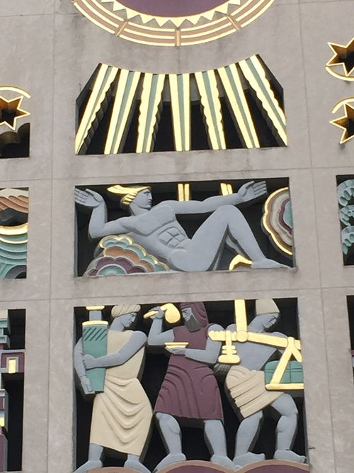 Gilded Relief Art 50 Street 1