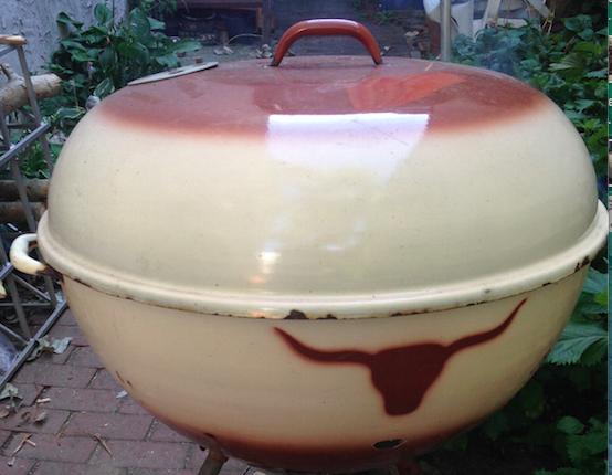 Weber Westerner grill