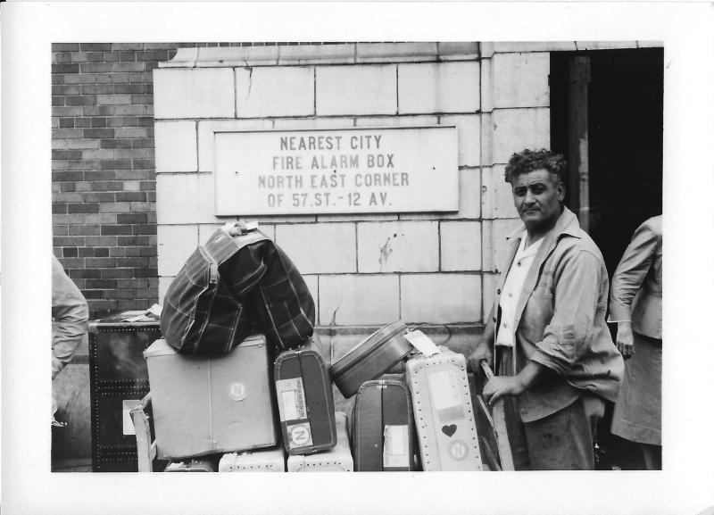 1956 NYC Porter