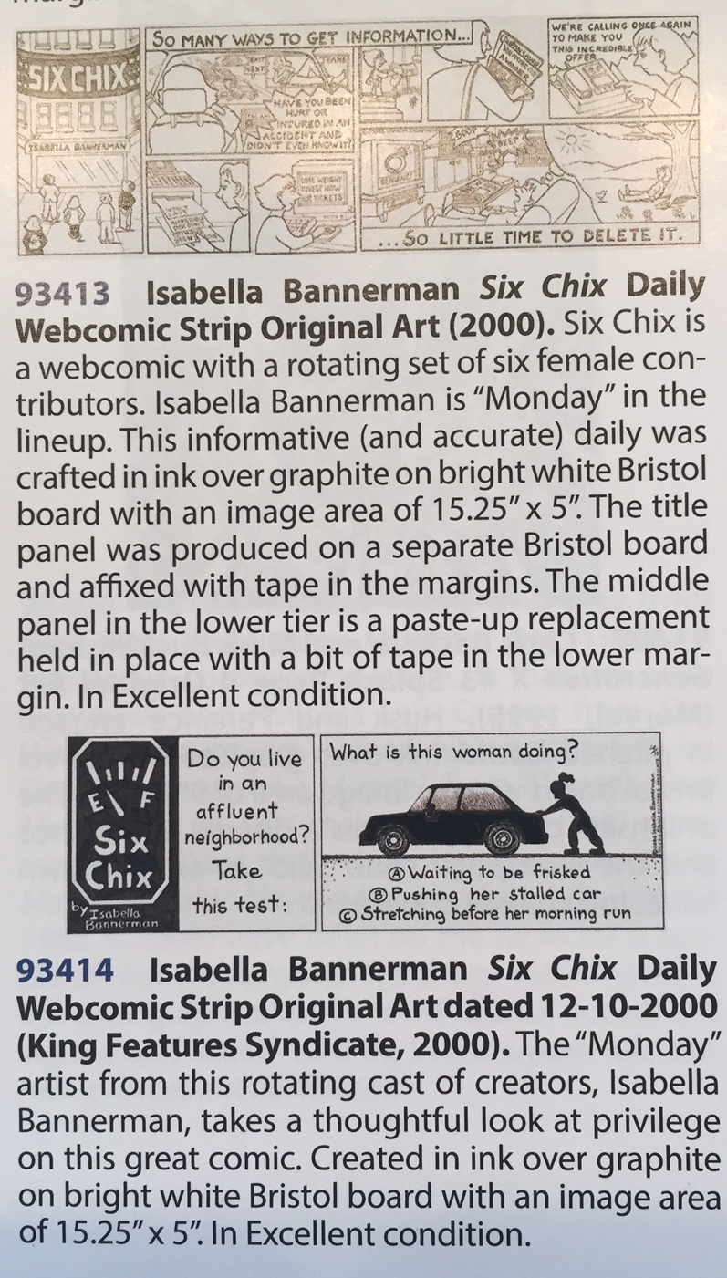 Isabella Bannerman Heritage Auction Panels