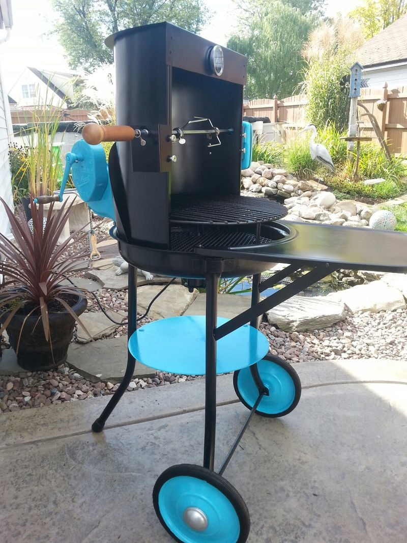 How Mook Buffalo Forge grill rotisserie 2