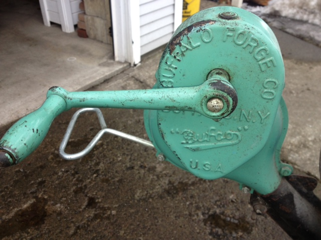 Buffalo Forge Grill blower - Jim Nolan's Blog