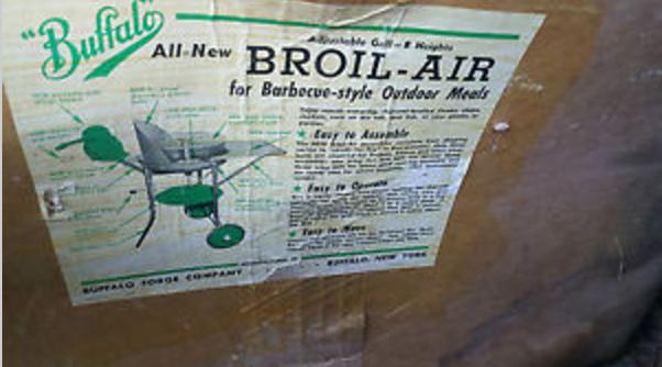 Buffalo Forge Grill in box eBay