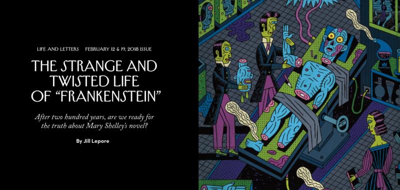 New Yorker Jill Lepore Mary Shelley