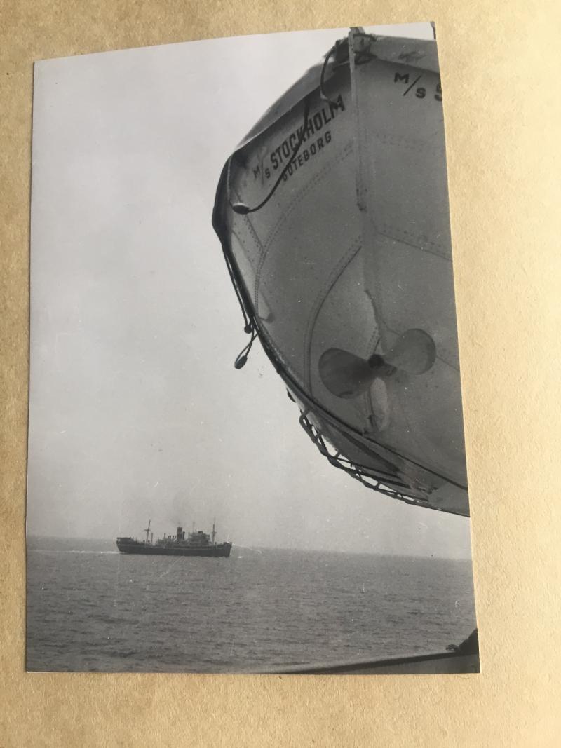 M.S. Stockholm Lifeboat photo 1956