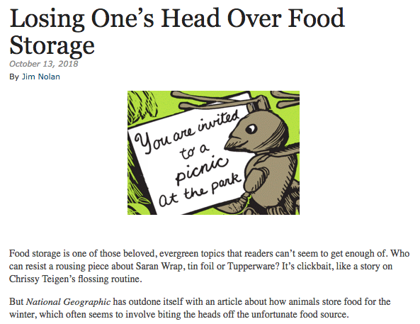 Food Storage Humor Ooucasts