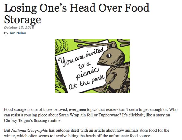 Food Storage Humor Ooucasts