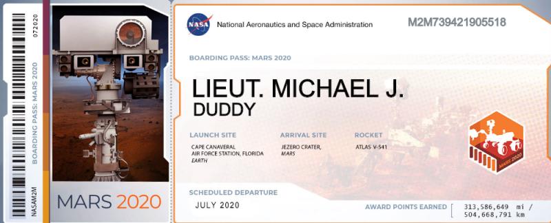 Lt. Duddy Ticket