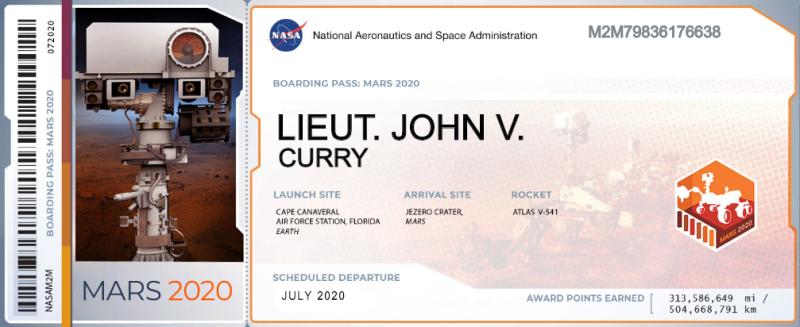 John Curry Ticket
