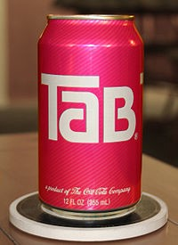 Tab Cola can