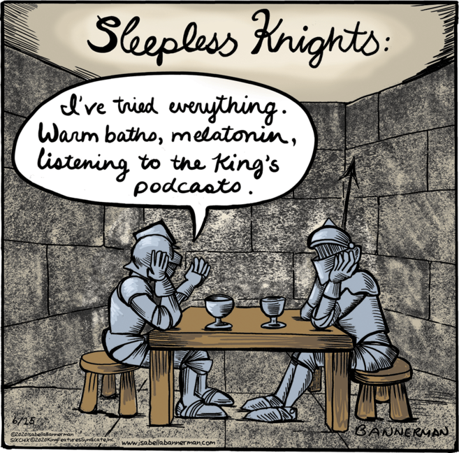 Knights cartoon