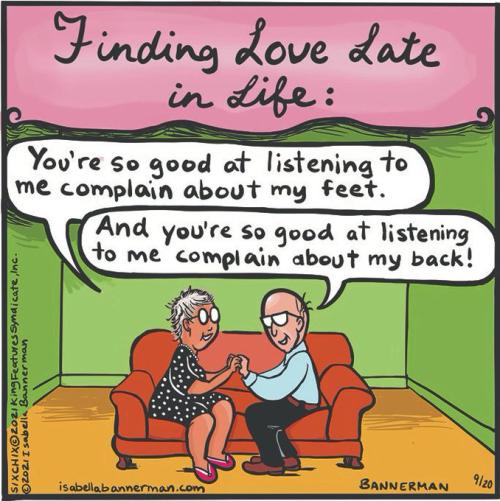 Finding Love Late Cartoon Isabella Bannerman